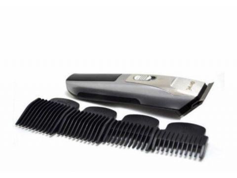 Машинка для стрижки волос Gemei GM6022 аккумуляторная Серебристая (301070)