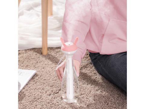 Увлажнитель воздуха портативный Baseus Magic Wand Portable Humidifier 6-12h 40mL/h Розовый (gr_012287)