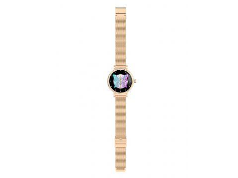 Умные часы Linwear LW06 Metal с измерением давления Золотой