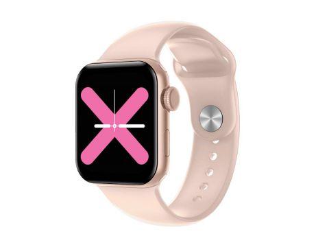 Умные часы Linwear LW15 с пульсоксиметром и тонометром Розовый