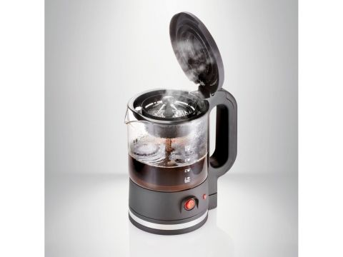 Электрический чайник-заварник SilverCrest  650 Вт Черный (01540)