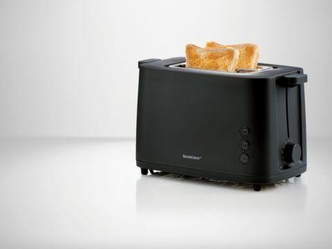 Тостер SilverCrest 800 Вт STK 870 A1 Черный (01526-1)