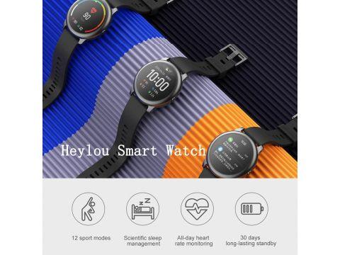 Смарт часы Xiaomi Haylou Solar Black (LS05)