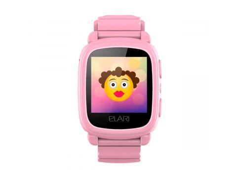 Детские смарт-часы Elari KidPhone 2 с GPS-трекером Pink (KP-2P)