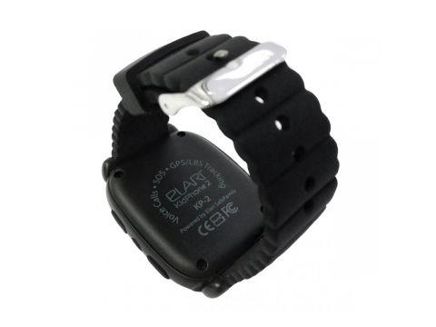 Детские смарт-часы Elari KidPhone 2 с GPS-трекером Black (KP-2B)