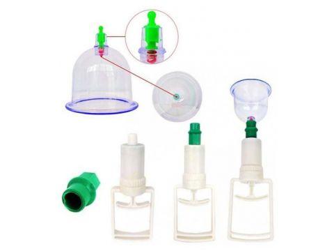 Набор массажных вакуумных банок с насосом HMD 10 шт 230-20624435