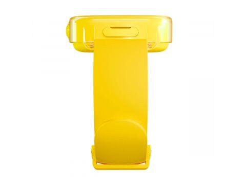 Детские смарт-часы Elari KidPhone Fresh Yellow с GPS-трекером (KP-F/Yellow)