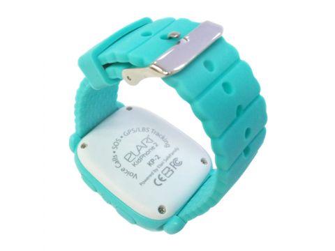 Детские смарт-часы Elari KidPhone 2 с GPS-трекером Green (KP-2G)