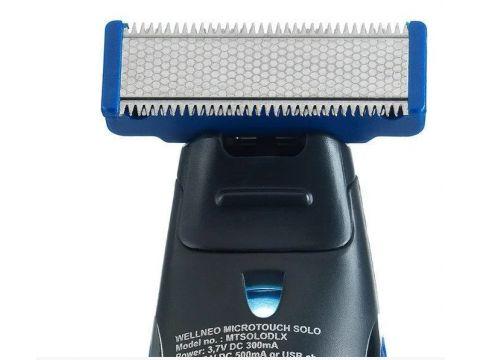 Триммер для бороды 3 в 1 Micro Touch Solo Trimmer ART-368/ 4249 Черный
