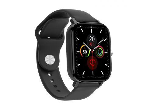 Умные часы NO.1 DT36 с пульсоксиметром и тонометром Черный