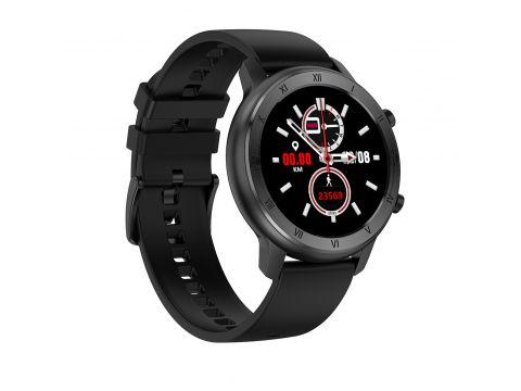 Умные часы NO.1 DT89 Silicon с тонометром и пульсоксиметром Черный