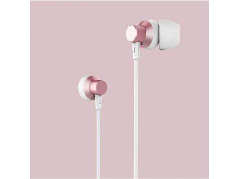 Наушники Remax RM-512 с микрофоном (Розовый) 876593