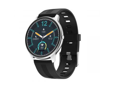 Умные часы Linwear LW11 с измерением кислорода Серебристый