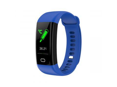 Умный фитнес-браслет Lemfo F07 Health с измерением температуры Синий