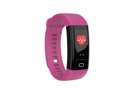 Умный фитнес-браслет Lemfo F07 Health с измерением температуры Фиолетовый