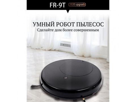 Мощный робот-пылесос INSPIRE с функцией влажной уборки FR-9T Black (mobile Wi-Fi App)