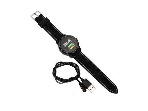 "Смарт-часы Colmi Sky 1 Black 1.3"" шагомер Bluetooth пульсометр (6179-20810)"