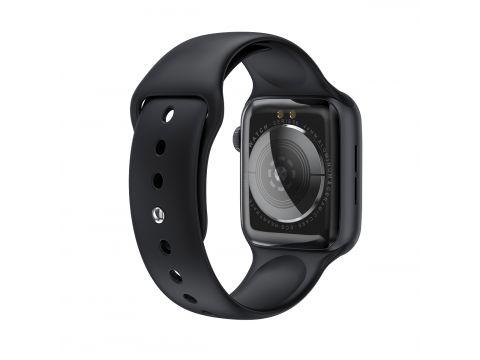 Умные часы IWO W26 с датчиком пульса и давления Черный