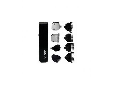 Машинка для стрижки Rozia HQ 5300 5 в 1 Черный с серым (200149)