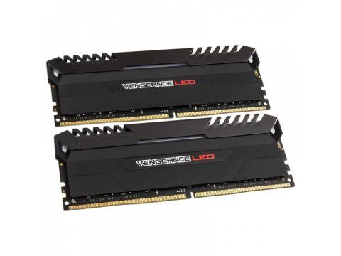 Оперативная память Corsair 16GB 3200MHz Vengeance RED LED CL16 (CMU16GX4M2C3200C16R)