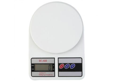 Электронные кухонные весы UKC SF- 400 LCD 10 кг Белый (hub_np2_1307)