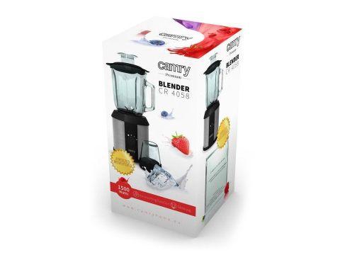 Блендер кофемолка Camry CR 4058 Серебристый (008459)