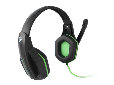 Наушники Gemix Gaming W-330 Black-green (4817251)