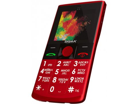Sigma mobile Comfort 50 Solo Red (s-232693)