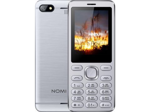 Nomi i2411 Dual Sim Silver