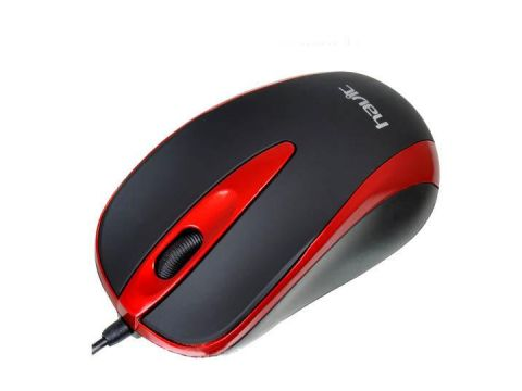 Проводная USB оптическая мышь Havit HVMS675 Red (005415)