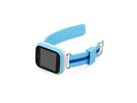 Детские умные часы-телефон с GPS трекером Smart Watch Q100 Голубые
