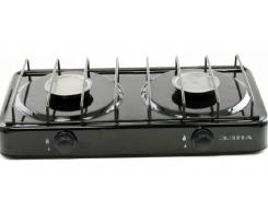 Газовая плита ЭЛНА ПГ2-Н двухконфорочная без крышки Черный (56870)