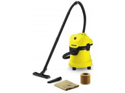 Пылесос для сухой уборки KARCHER WD 3 + мешки Желтый (81350)