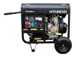 Генератор Hyundai DHY6000LE-3 Дизель Черный (hub_GdVx35328)
