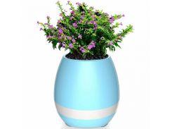 Умный музыкальный цветочный горшок Smart Music Flower Pot Голубой