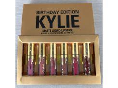 Набор из 6 матовых помад Kylie Birthday Edition (513923855)