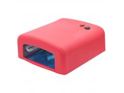 УФ лампа для маникюра ZH-818 36 Вт Красная (1342)
