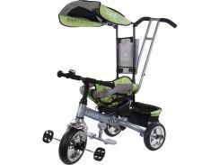 Велосипед триколісний SUN BABY  Luxus Trike (XG18819G/Z) з ручкою Зелений (3072018055)