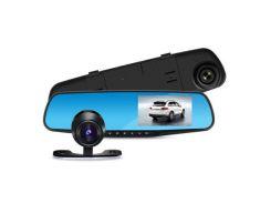 Видеорегистратор DVR MOD L-708 зеркало с двумя камерами (55000998)