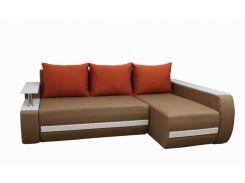 Угловой диван Garnitur.plus Граф бежевый 245 см (DP-221)
