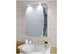 Шкаф зеркальный Garnitur.plus в ванную с LED подсветкой 30NZ (DP-V-200129)