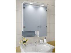 Шкаф зеркальный Garnitur.plus в ванную с LED подсветкой 15S (DP-V-200114)