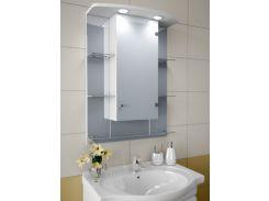 Шкаф зеркальный Garnitur.plus в ванную с LED подсветкой 10S (DP-V-200109)