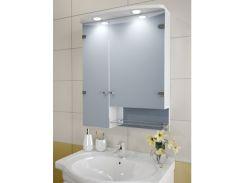 Шкаф зеркальный Garnitur.plus в ванную с LED подсветкой 32SZ (DP-V-200131)