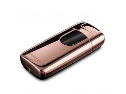 Электроимпульсная USB зажигалка PRIMO Золотистый (SUN0681)