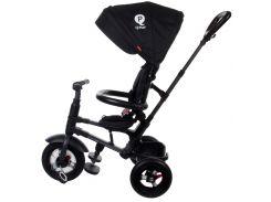 Велосипед триколісний Sun Baby QPlay Rito з ручкою Чорний (3072018076)