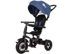 Велосипед триколісний Sun Baby QPlay Rito з ручкою Синій (3072018078)