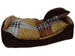 Лежанка для животных AnimAll Кроватка 70x56x21 см Коричневый (64560)