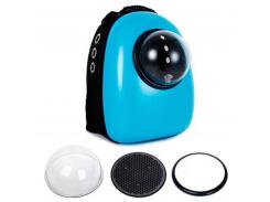 Рюкзак-переноска для животных AnimAll SpacePet Голубой (63457)