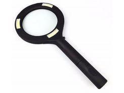 Лупа Magnifier Lp-001 с подсветкой Черная